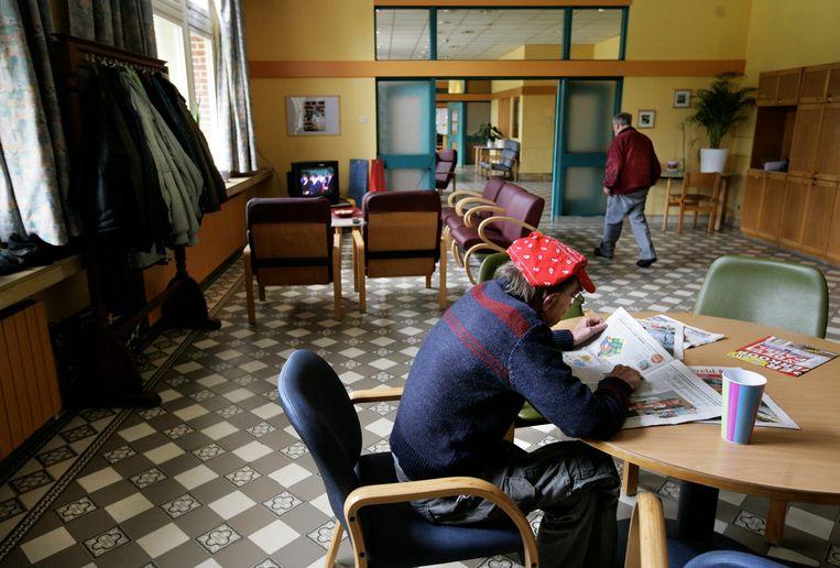 Het psychiatrisch ziekenhuis UPC Sint-Kamillus in Bierbeek. Verzorgingsinstellingen van de Broeders van Liefde zoals deze laten nu euthanasie voor niet-terminale patiënten toe. Beeld tim dirven