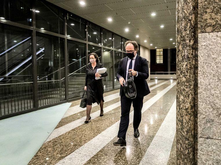 Tamara van Ark (links) en Wouter Koolmees werden een week geleden door de Kamer aangesteld als verkenners. Beeld ANP