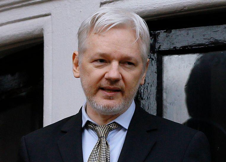 Julian Assange.  Beeld AP