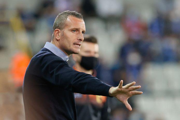 """Nu er weer publiek op Freethiel mag komen hoopt Nicky Hayen een gedreven team te zien tegen Anderlecht vanavond: """"Gelukkig waren er geen positieve coronatests bij ons."""""""