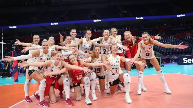 Euro volley féminin: la Belgique domine la Bosnie-Herzégovine et se hisse en huitièmes de finale