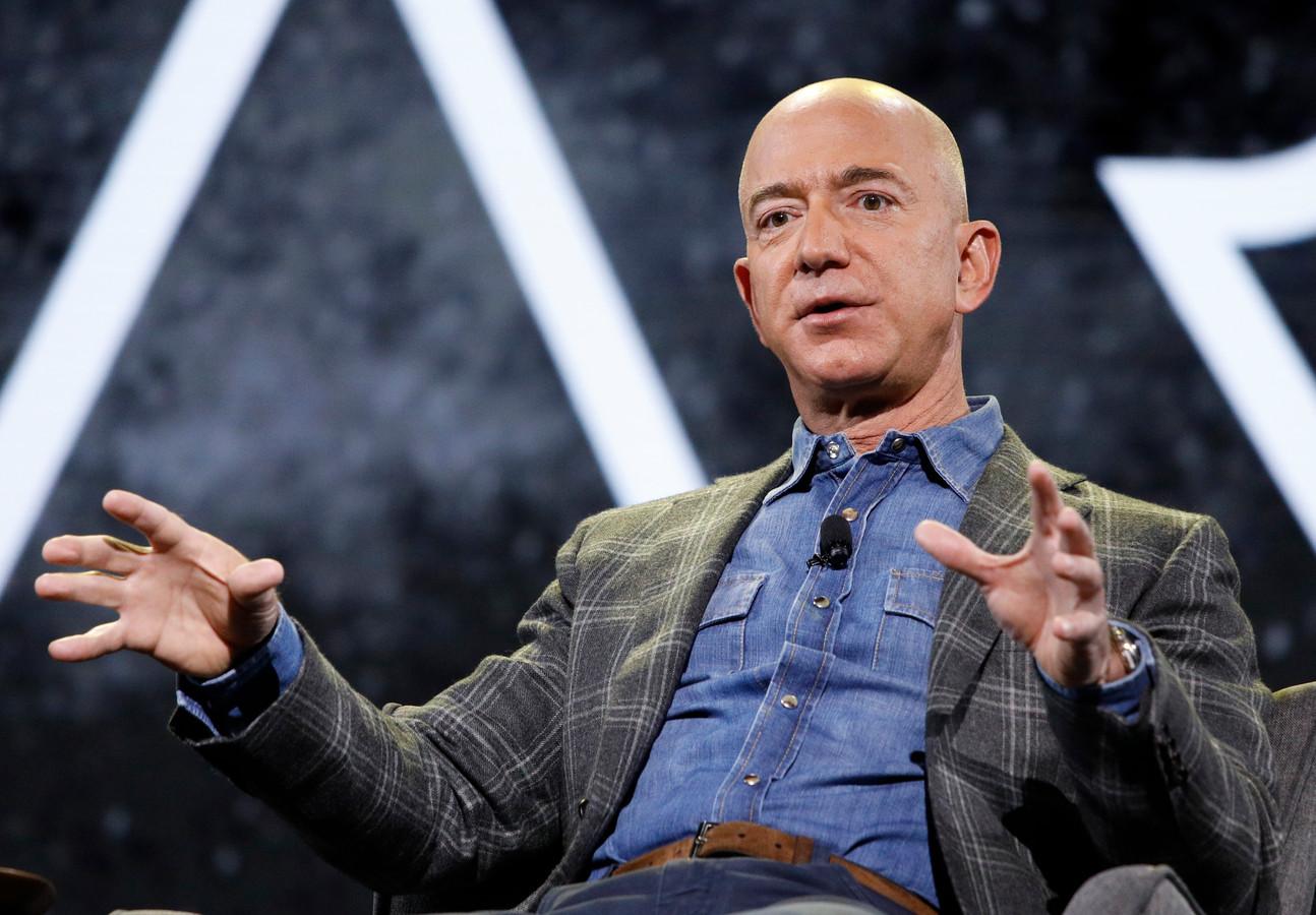 De rijkste mens ter wereld, Jeff Bezos.