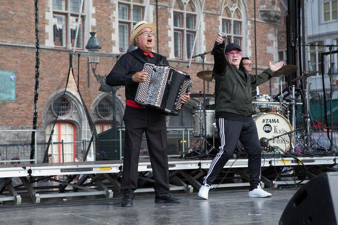 Onder andere Edje Ska (rechts) komt naar de Berenfeesten.