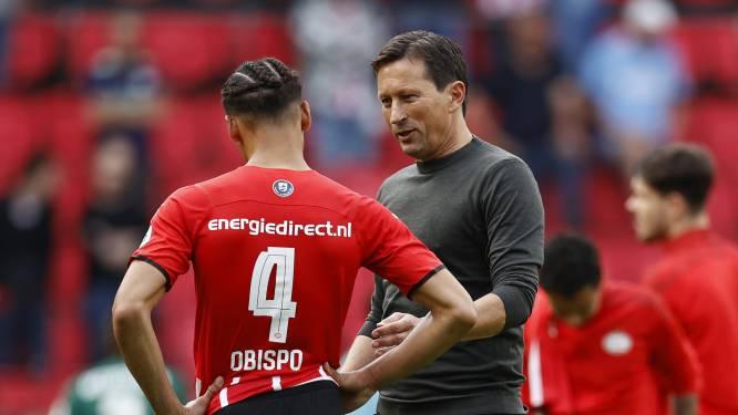 Het vertrouwen van PSV-coach Roger Schmidt is na één ketser niet aangetast: 'Ik geloof in wisselen op de goede momenten'