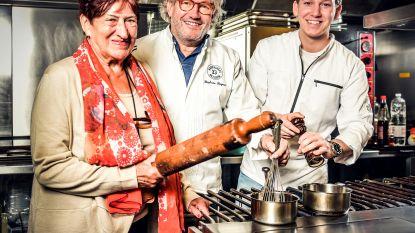 """Zoon Stéphane Buyens gaat mee koken in Hostellerie Le Fox: """"Naar trouw van vrienden of familie? Vergeet het maar, Baptiste!"""""""
