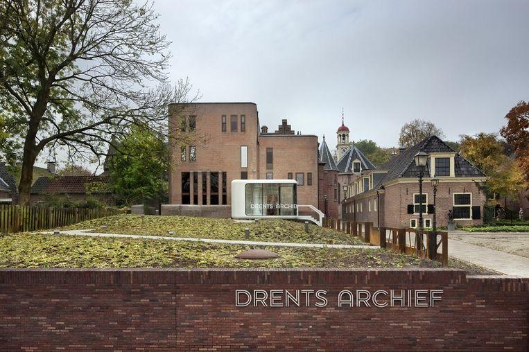 Renovatie Drents Archief te Assen door Zecc Architecten. Beeld CornbreadWorks