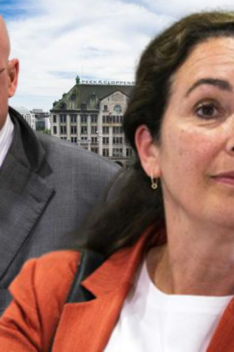 Halsema en Grapperhaus ruzieden via de app over demonstratie Dam