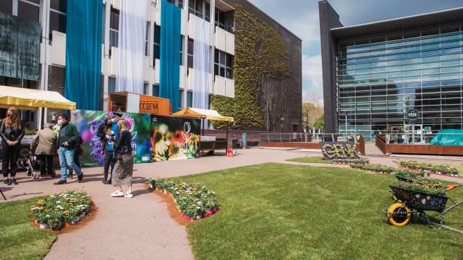 Geen festiviteiten in Genk-centrum op 1 mei, wel kleurrijk bloemenlandschap op Stadsplein