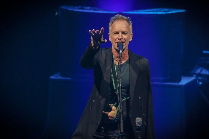 Sting komt volgende zomer naar Gent Jazz, hopelijk écht, deze keer.