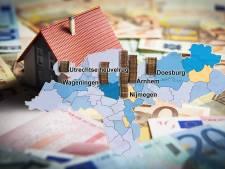 Gekkenhuis op de woningmarkt in de regio Arnhem: de vraagprijs is een vanafprijs geworden