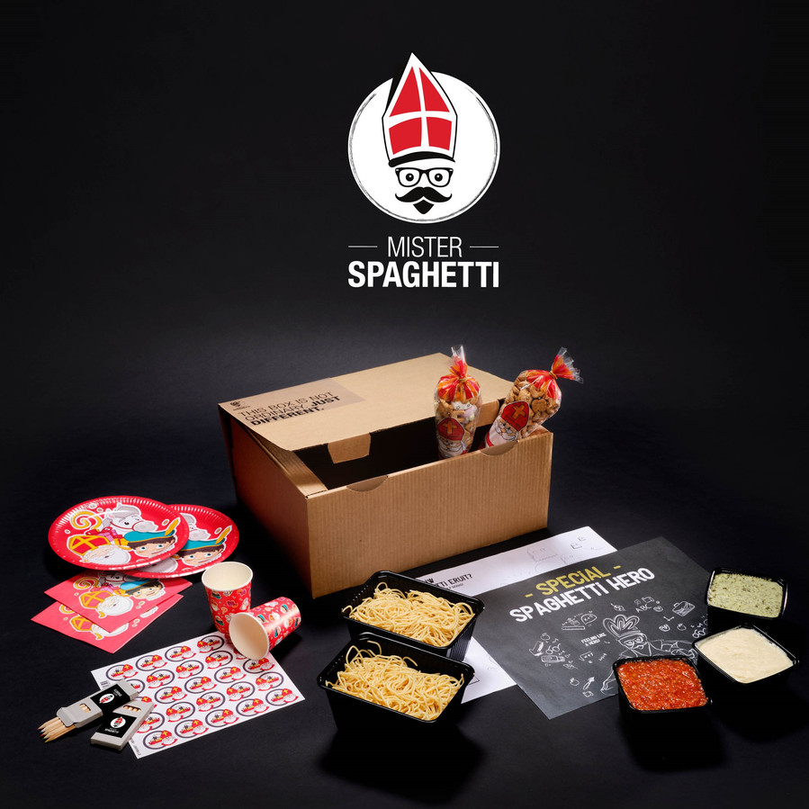 De Sintbox van Mister Spaghetti.