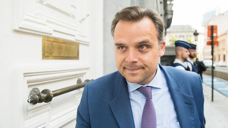 Staatssecretaris voor Fraudebestrijding Philippe De Backer. Beeld BELGA