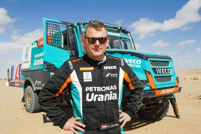 Gerard de Rooy in de Africa Eco Race