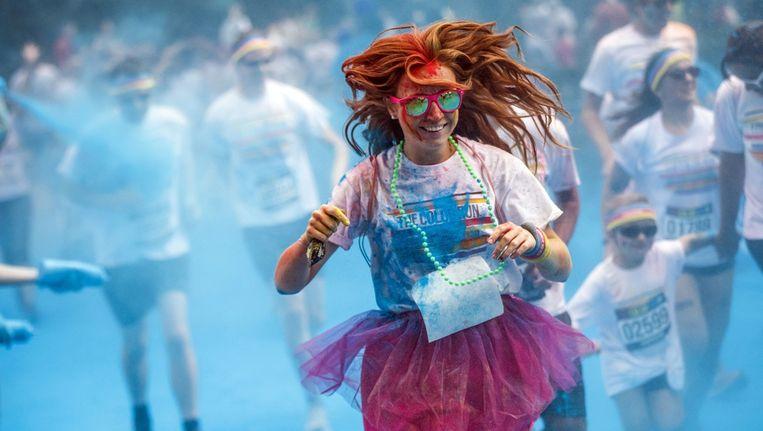 De Color Run vindt dit jaar in Utrecht plaats Beeld anp