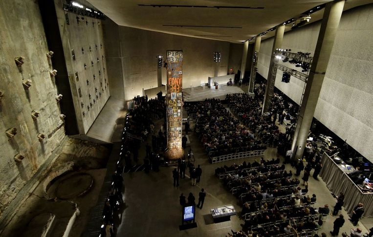Het September 11 Memorial Museum in New York. Beeld anp