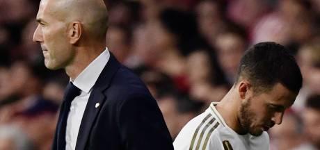 """Hazard blessé: """"Une très mauvaise nouvelle"""", peste Zidane"""