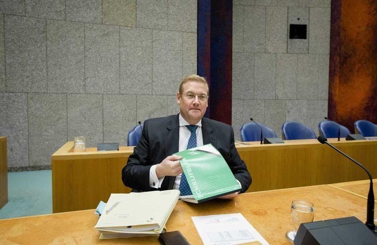 Minister Ard van der Steur van Veiligheid Beeld anp