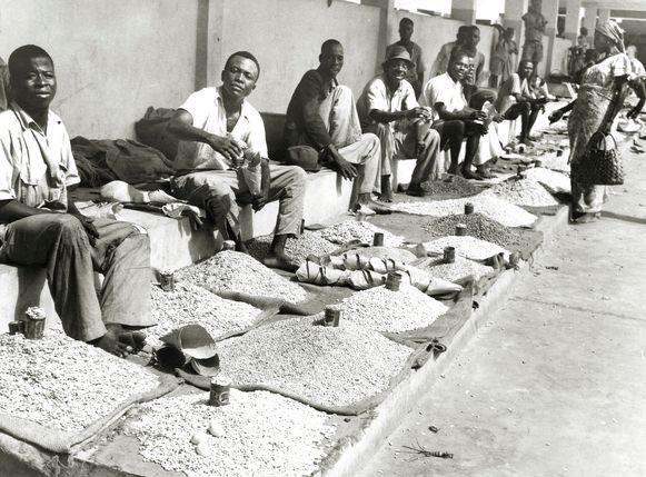 Toen Leopoldstad - nu Kinshasa - tot hoofdstad van Belgisch-Congo werd gebombardeerd, werden er duizenden mannen naartoe gestuurd. Hun vrouwen moesten ze thuislaten.