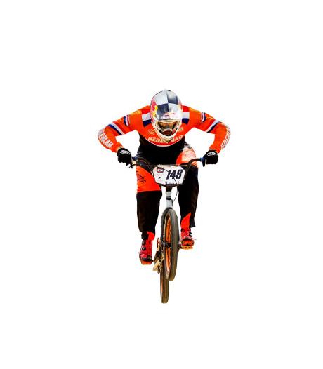 BMX-kampioen Twan van Gendt: Sport staat op het derde plan
