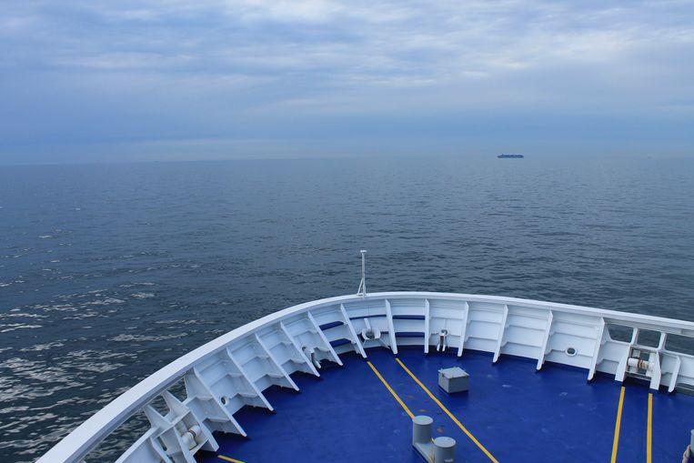 Wie per ferry naar Schotland wil reizen, is achttien uur onderweg. Beeld Stijn De Wandeleer