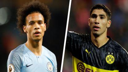 Hoezo, coronacrisis? Nu gooien ook Bayern en Inter met miljoenen voor Sané en Hakimi