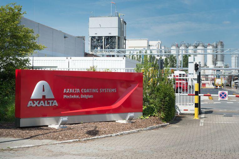 De Mechelse vestiging van verfmultinational Axalta Coating Systems in de Antoon Spinoystraat.