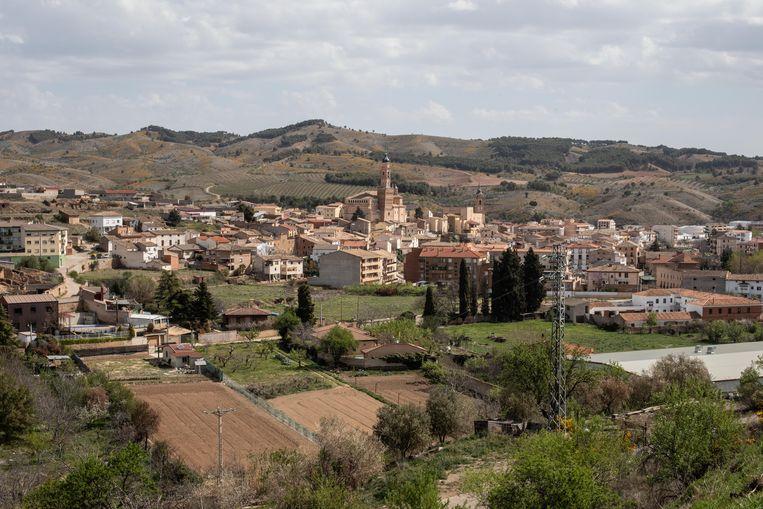 Uitzicht op Ateca. Beeld César Dezfuli