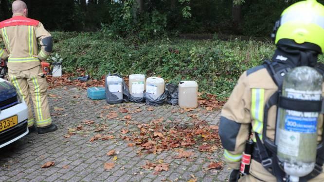 Mogelijk drugsafval aangetroffen in Groene Zoom