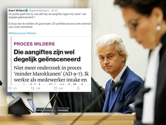 Geert Wilders is blij met de brief van Lies van der Rei.