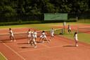 'TAL' van BOG op een tennisbaan van RTV Quirijn in Tilburg