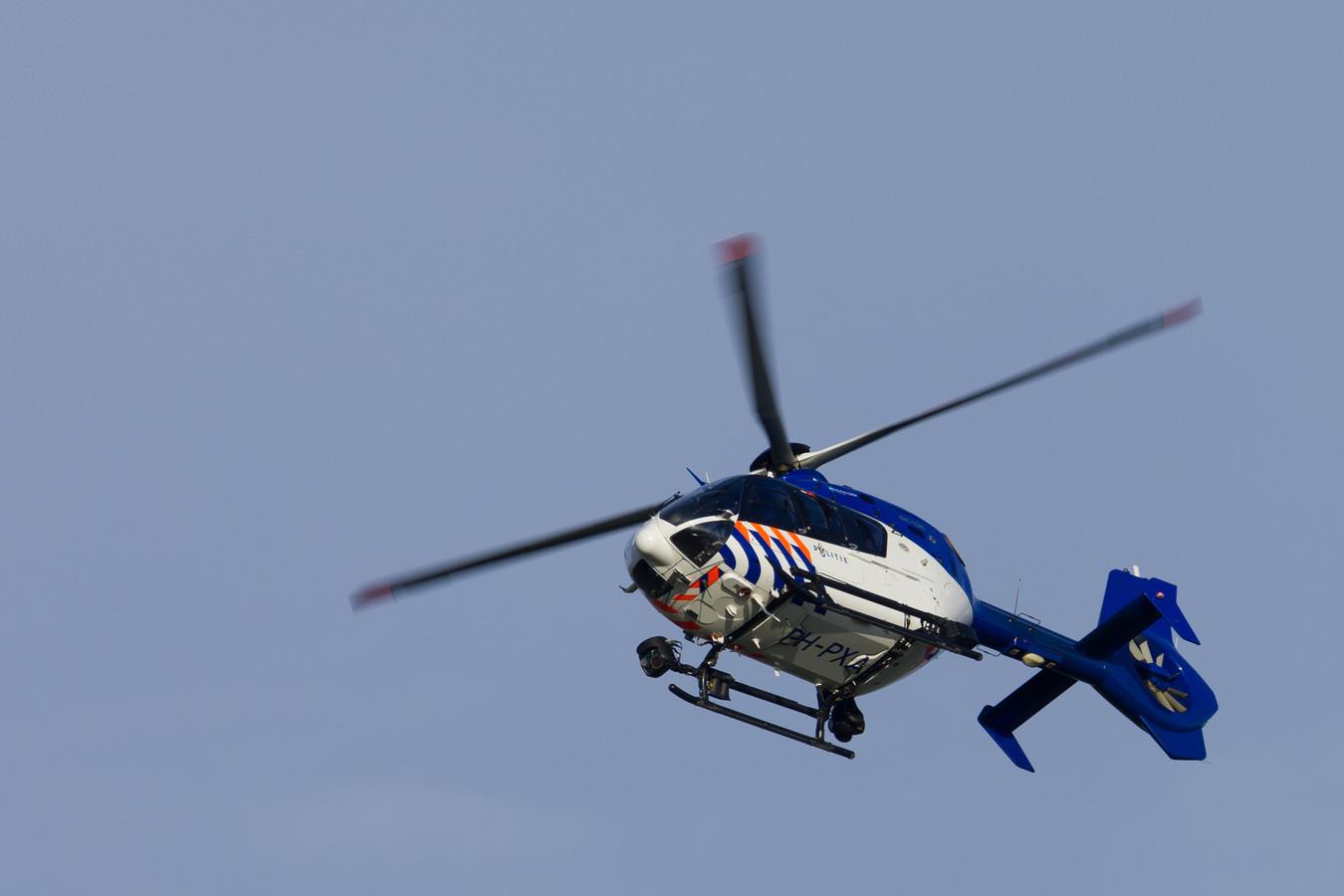 Politiehelikopter, ter illustratie.