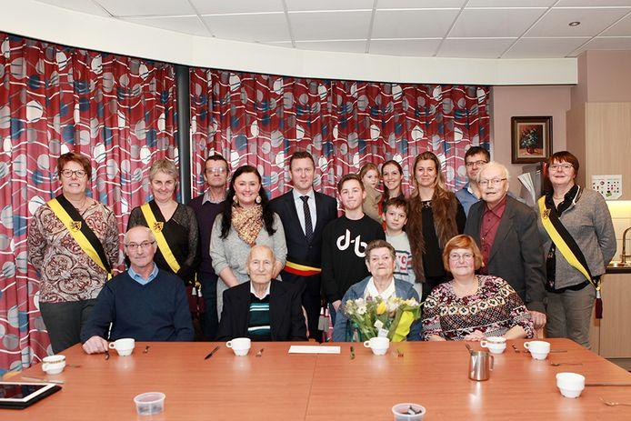 Godfried en Marcella vierden hun zeventigste huwelijksverjaardag.
