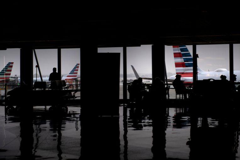 Er heerst veel onzekerheid bij reizigers over de impact van het inreisverbod naar de VS. Beeld AFP