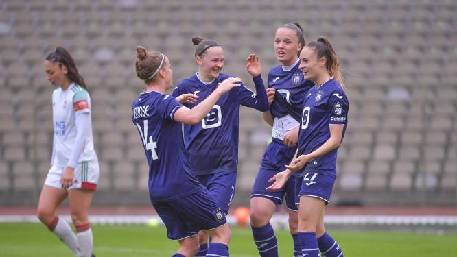 "Wullaert bezorgt Anderlecht-vrouwen vierde titel op rij: ""Vooraf toch wat zenuwachtigheid"""