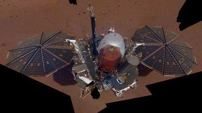 Marsrover InSight maakt tweede selfie: vuil en enkele onderdelen lichter