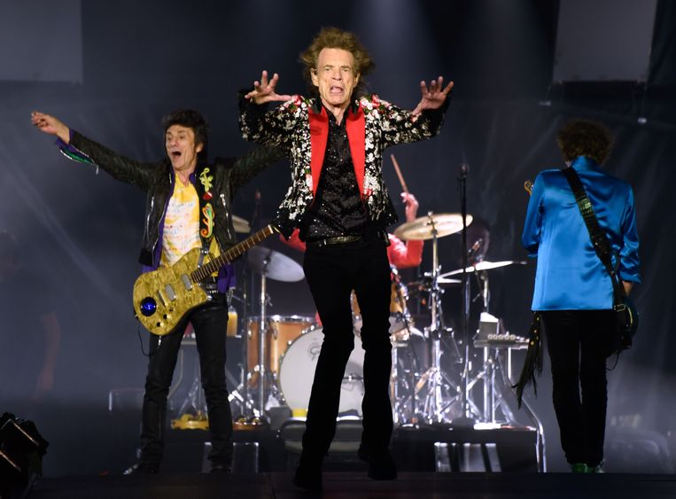 De Rolling Stones aan het werk