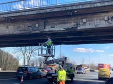 Brug boven E40 in Drongen hersteld, ook Kloosterstraat weer open voor verkeer