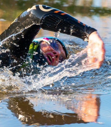 Annemieke is de snelste vrouw in de Extreme Triatlon van Amersfoort: 'Afzien en gewoon doorgaan, heerlijk!'