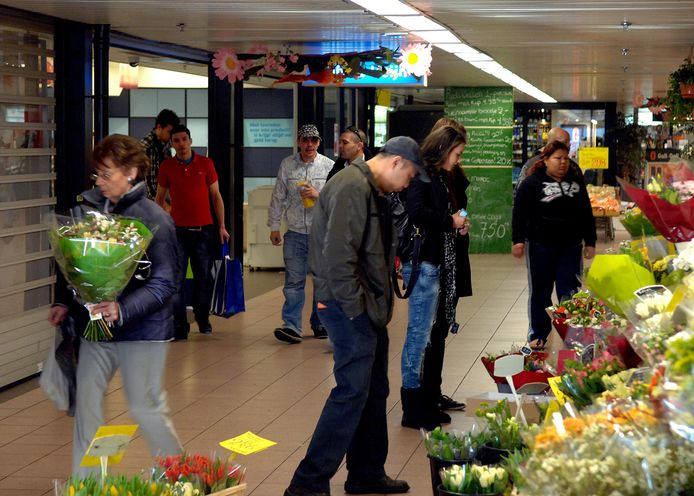 Winkelcentrum Mariahoeve.