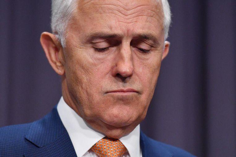Australische premier Turnbull Beeld null