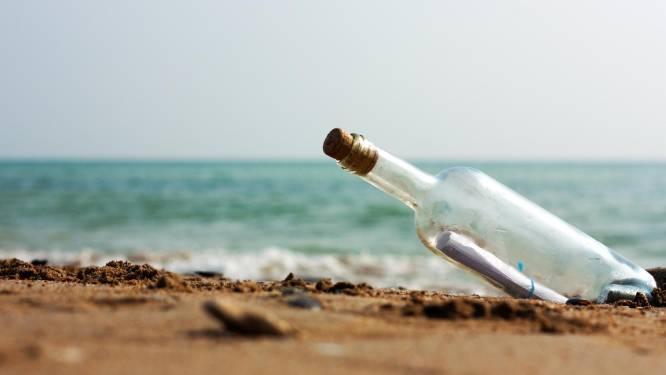 Boodschap in een fles verbindt tieners aan weerszijden van Atlantische Oceaan