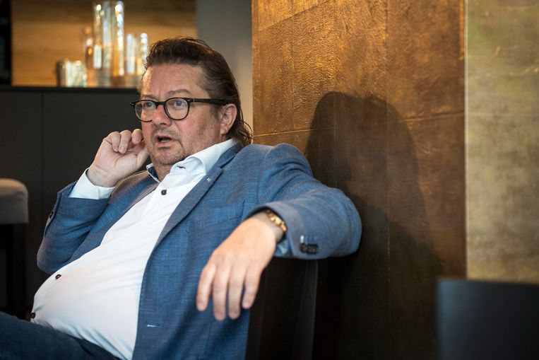 Marc Coucke en de bobo's van Anderlecht vonden elkaar vooral in hun afkeer van Paul Gheysens. Beeld Sebastien Smets - Photo News