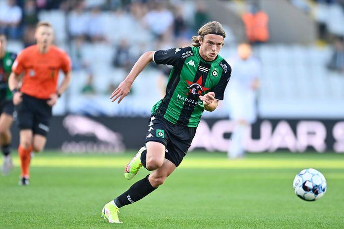 De kans dat Aske Sampers vrijdag tegen Club Brugge opnieuw speelminuten maakt, is misschien niet echt groot. Maar zijn korte invalbeurt tegen OH Leuven ging in ieder geval niet onopgemerkt voorbij.