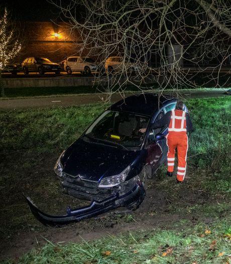 Automobilist met te veel alcohol op crasht in Arnhem