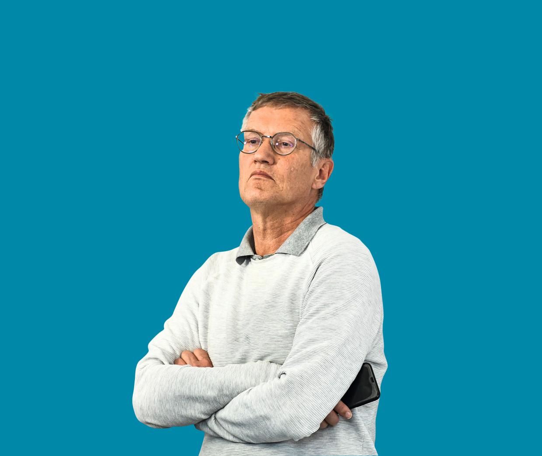 De Zweedse epidemioloog Anders Tegnell.  Beeld AP