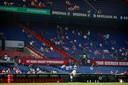 Er waren vandaag zo'n 3000 toeschouwers aanwezig bij Feyenoord - Sparta (3-0) in de Kuip.