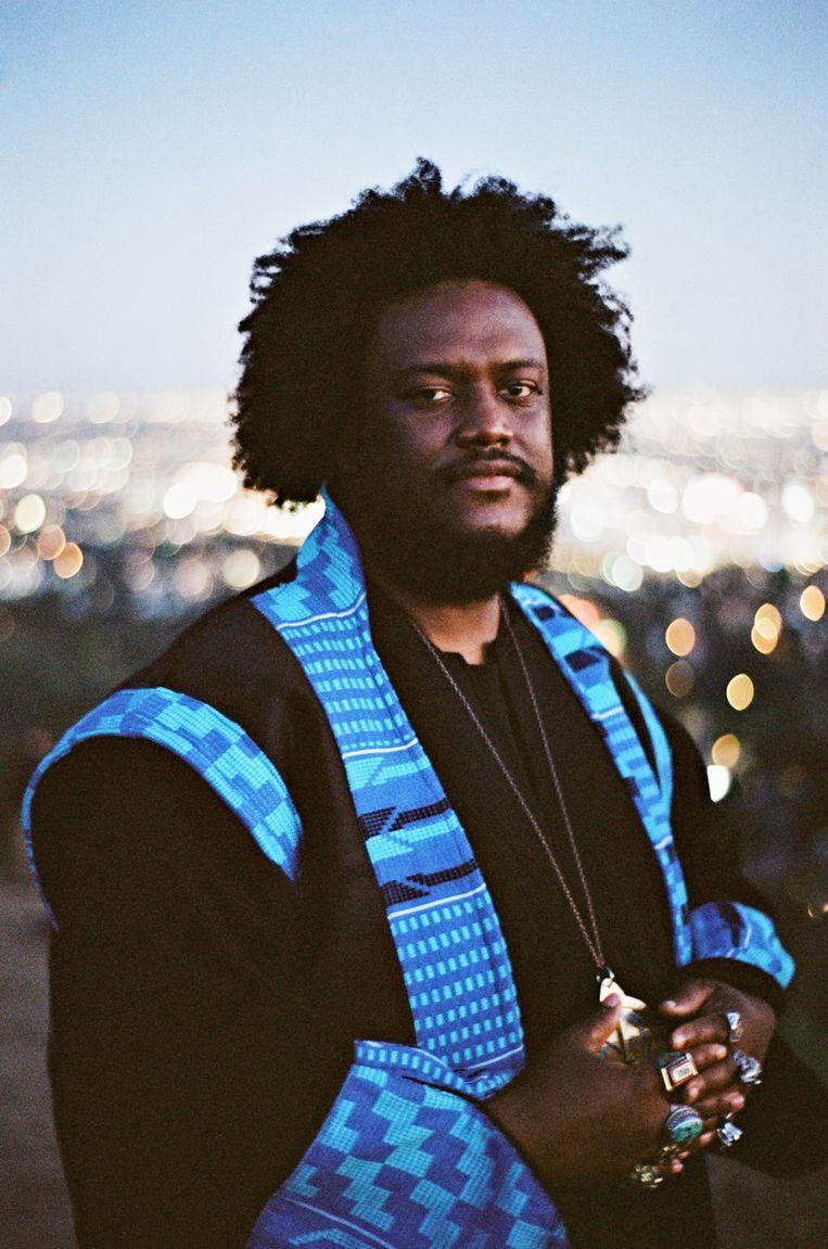 Kamasi Washington komt naar Jazz Middelheim. Beeld rv jamie james medina