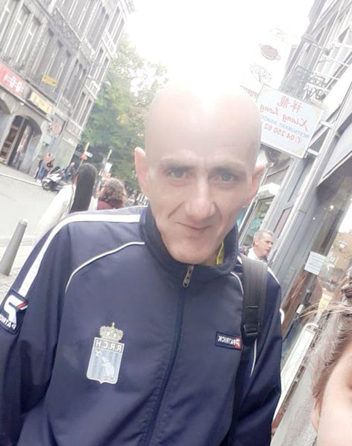 Angelo Lo Presti a disparu à Liège en juin ou août 2020. Depuis, sa famille n'a plus de nouvelles de lui. La police vient de diffuser un avis de recherche.