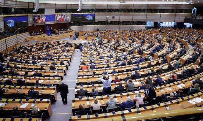 Ook Brussel heeft een plenaire zittingszaal, al vinden in onze hoofdstad vooral commissievergaderingen plaats.