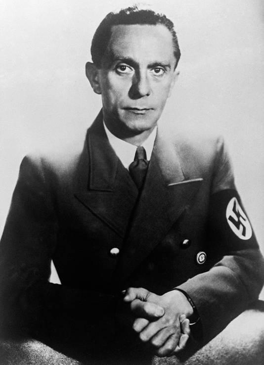 Propaganda-minister Jozef Goebbels